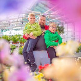 Henkilökuva Mika Törrö Lapset 1