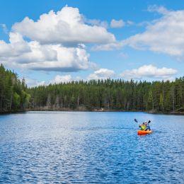 Petkeljärvi maisemakuva ilmakuva 1
