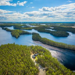 Petkeljärvi maisemakuva ilmakuva 3
