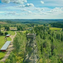 Petkeljärvi maisemakuva ilmakuva 4