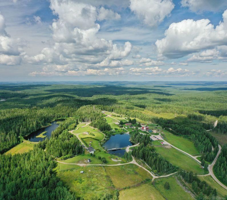 Petkeljärvi maisemakuva ilmakuva 5